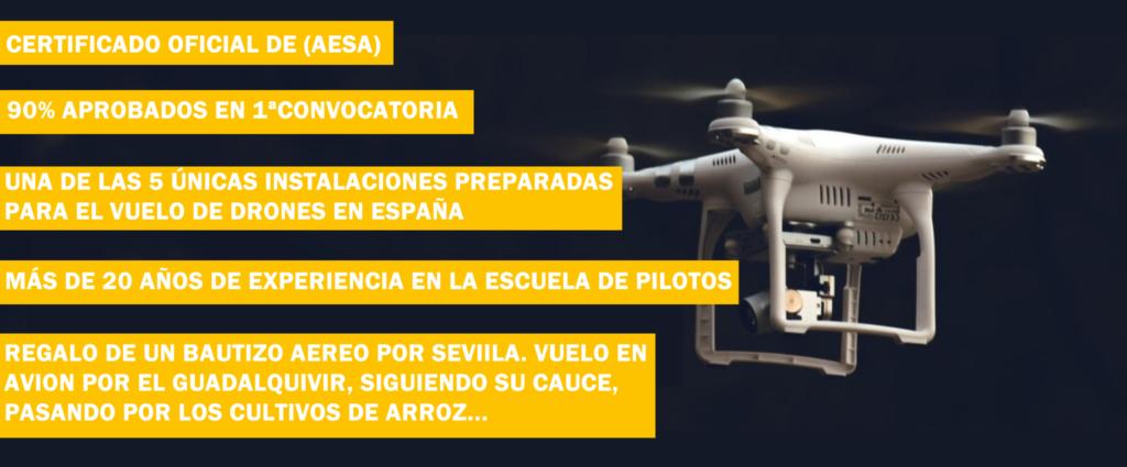 Curso de drones en Sevilla
